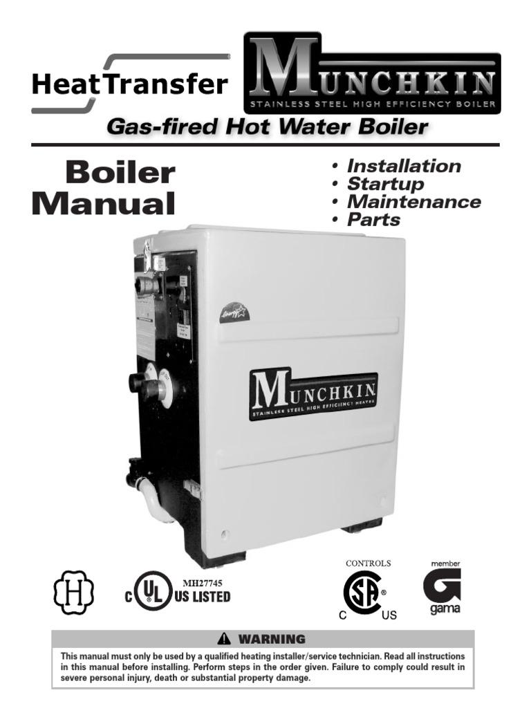 Munchkin Boiler Manual - DocShare.tips