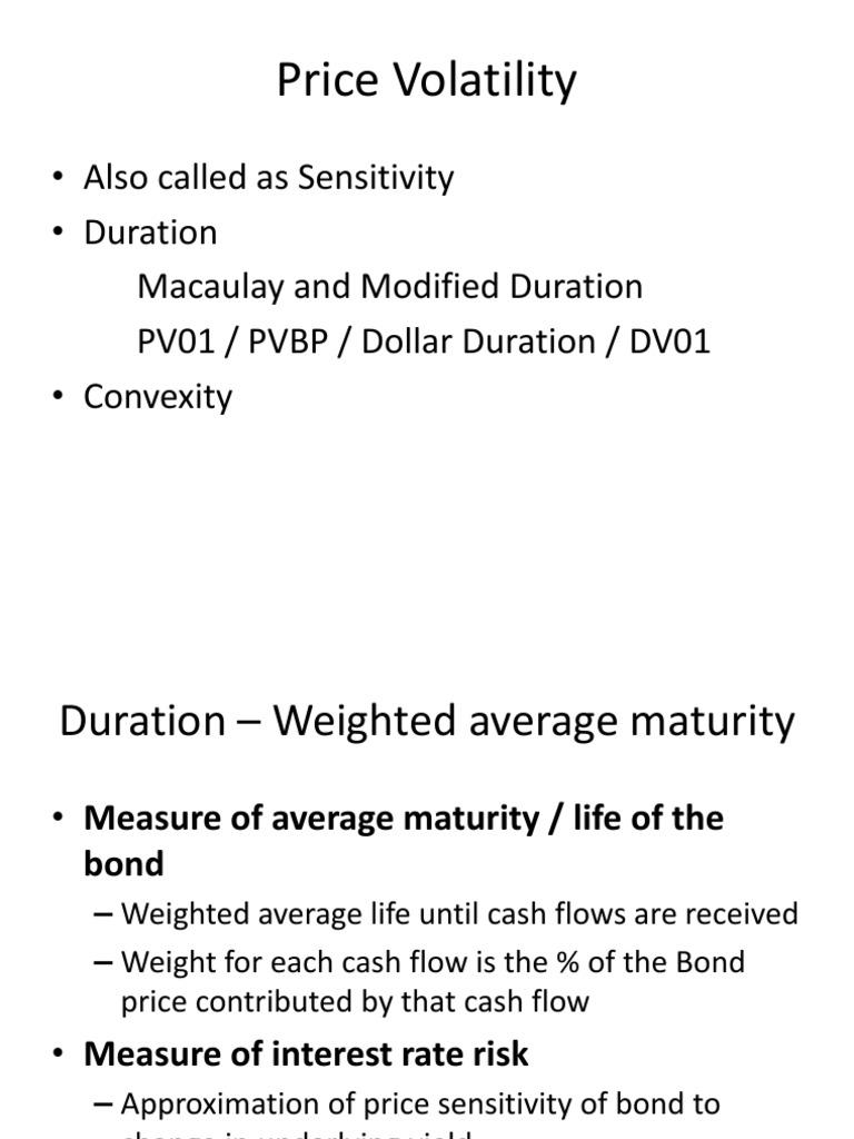Dollar weighted average maturity