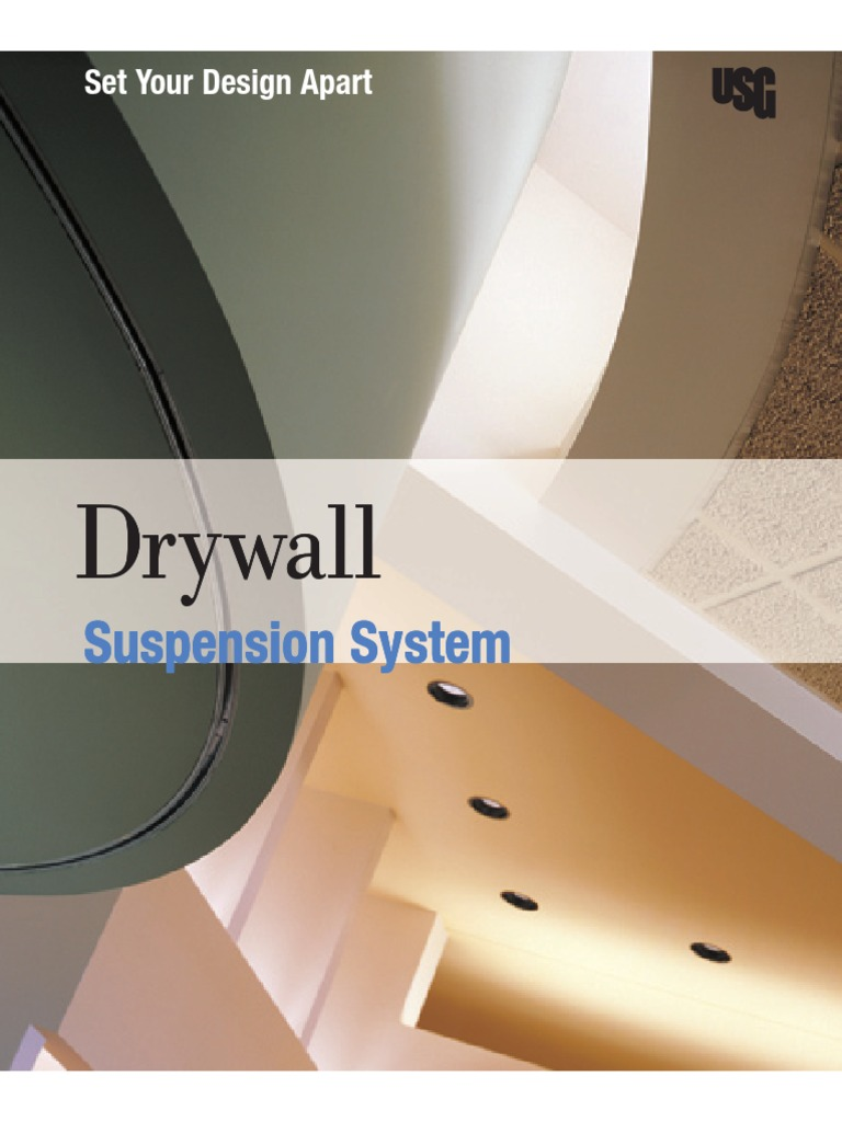 Download USG Drywall Suspension System Flat Ceilings Technical ...