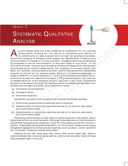 random qualitative analysis cation test