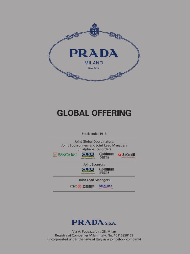 859ec6e1e320 Prada S.p.A. Prospectus Full.pdf - DocShare.tips