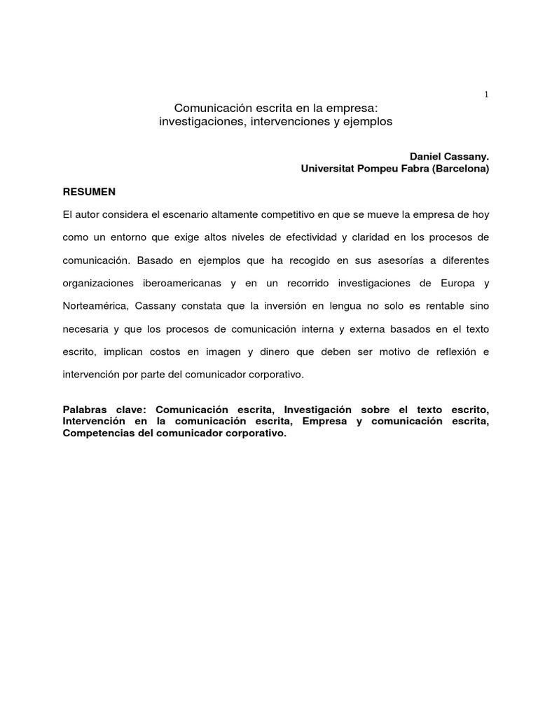 Escritura y empresa (Lectura).pdf - DocShare.tips