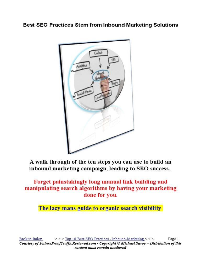 Download Salesforce.com Inbound Lead Management Best Practices ...