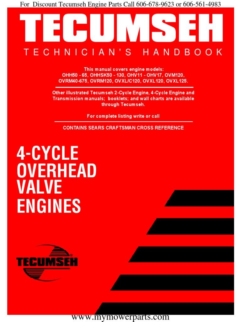 Tecumseh Service Repair Manual