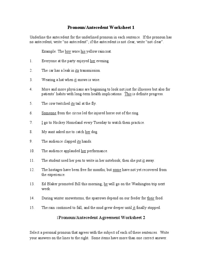 Download Gerunds Pronouns Board Game DocSharetips – Pronoun Antecedent Worksheet
