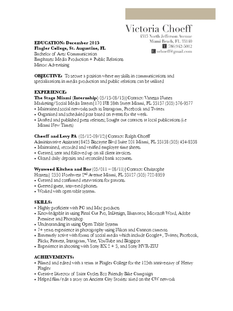 Resume - DocShare.tips