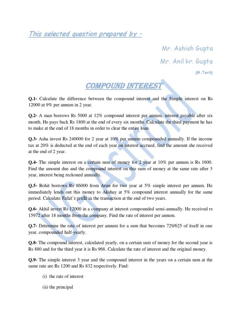 compound interest copy docsharetips