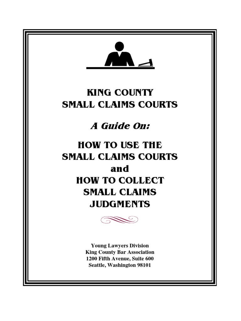 small claims court essay Going to court for a small sum of money has just become cheaper and faster with the establishment of small claims courts a simple procedure makes it easy.