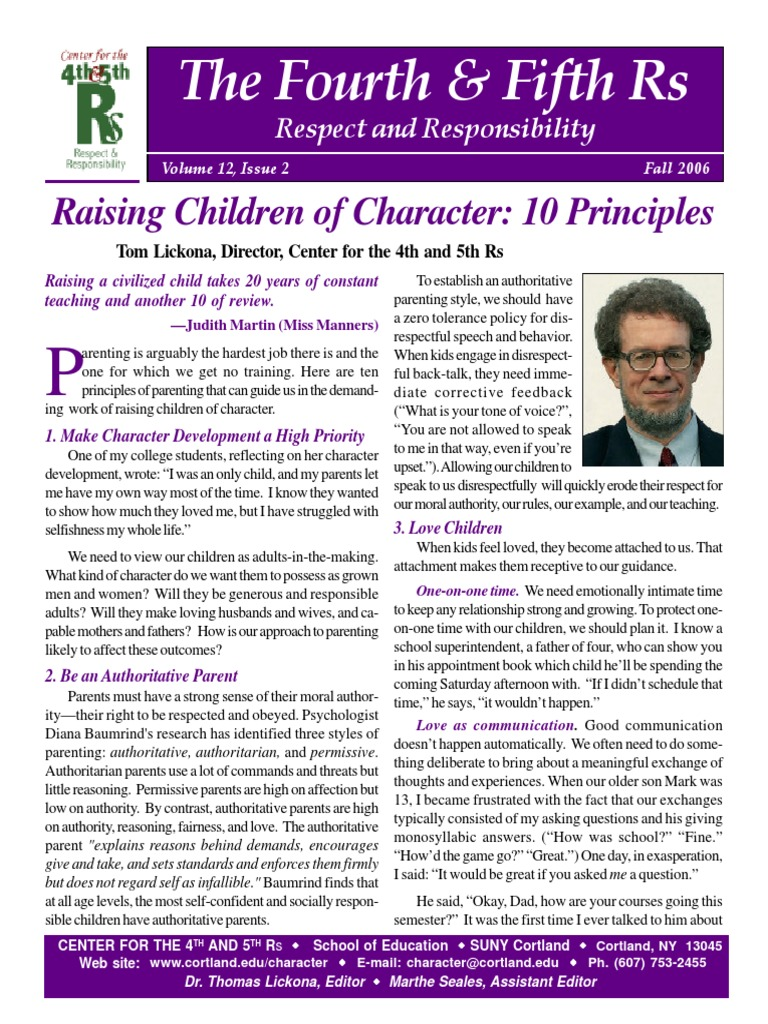impact of permissive and authoratative parenting