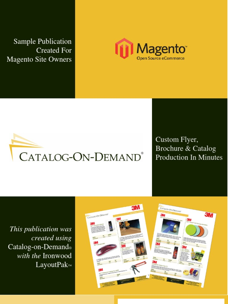essay on catalog