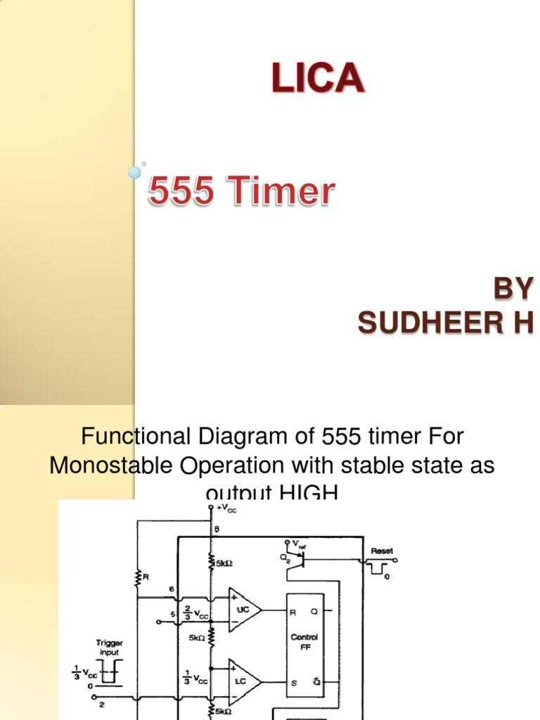 Download Fire Alarm Using 555 Timer Ic Internal Circuit Of