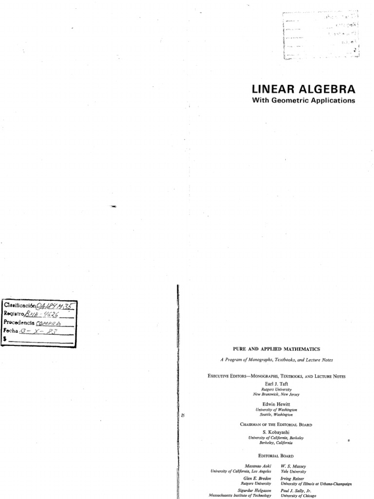 Download Mansfield Linear Algebra pdf - DocShare tips