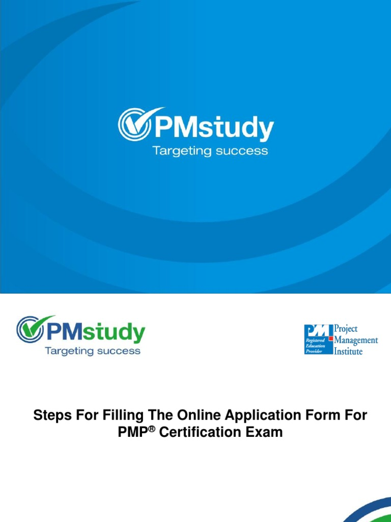 Download instructions for filling on line application form filling the pmp application 1betcityfo Image collections