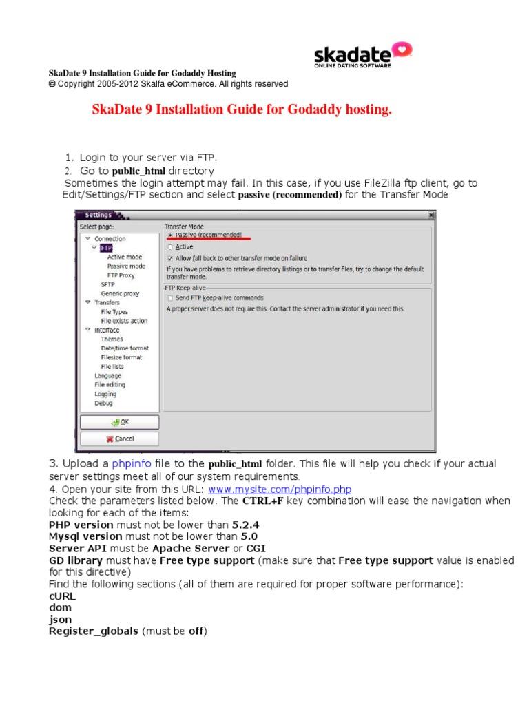 Version 9 Manuals Installation Update Upgrade SkaDate 9