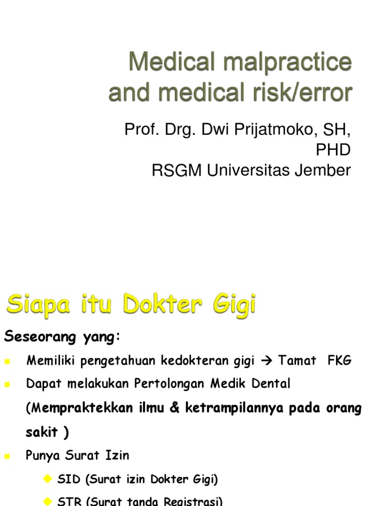 Malpraktek 2012 Docsharetips