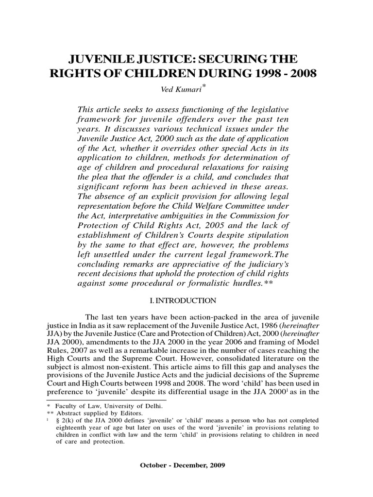 lack of parental control is the cause of juvenile delinquency By writing this unit on juvenile delinquency: cause and effect, i want to raise students level of awareness so that at an early age, students can avoid participating in criminal activities it is also manifested by a lack of parental control over the child.