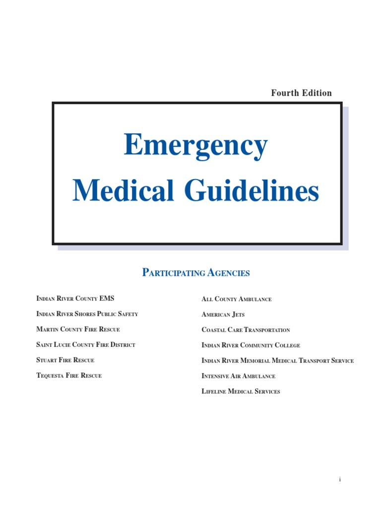 Emergency Medicical Guidelines Pam1 Relay Wiring Diagram
