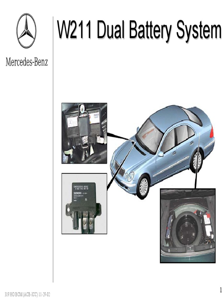 319 ho dual battery (acb icc) 11 29 02 docshare tipsMercedes Benz W211 Dual Battery System Diagram #10