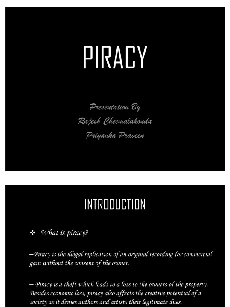 piracy in internet essays Pros and cons of piracy essay and now on to the more recent growth of high-speed internet connections the movie piracy business, for instance.