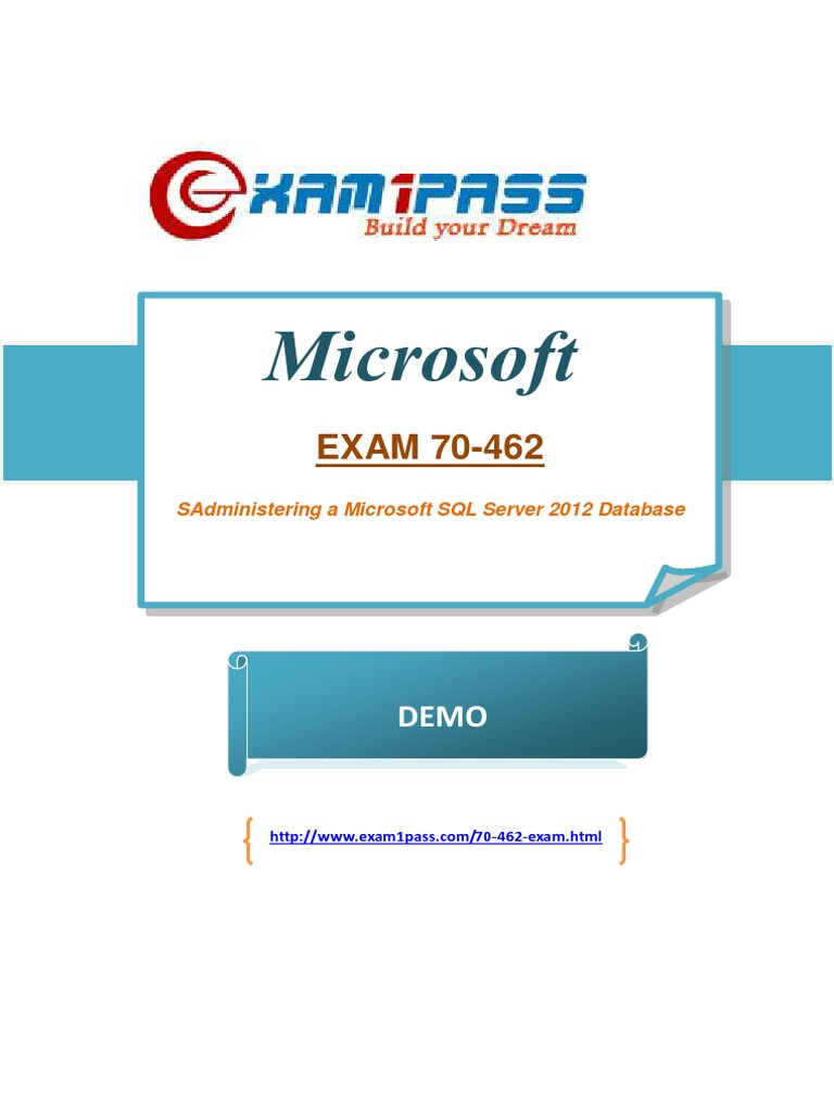 70 462 Sql Server Certification Exam Docshare