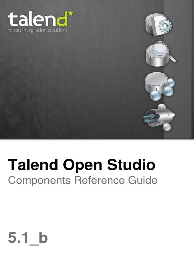 TalendOpenStudio Components RG 51b En - DocShare tips