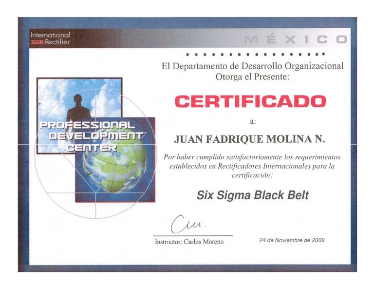 Download Benchmark Six Sigma Dfss Black Belt Certification
