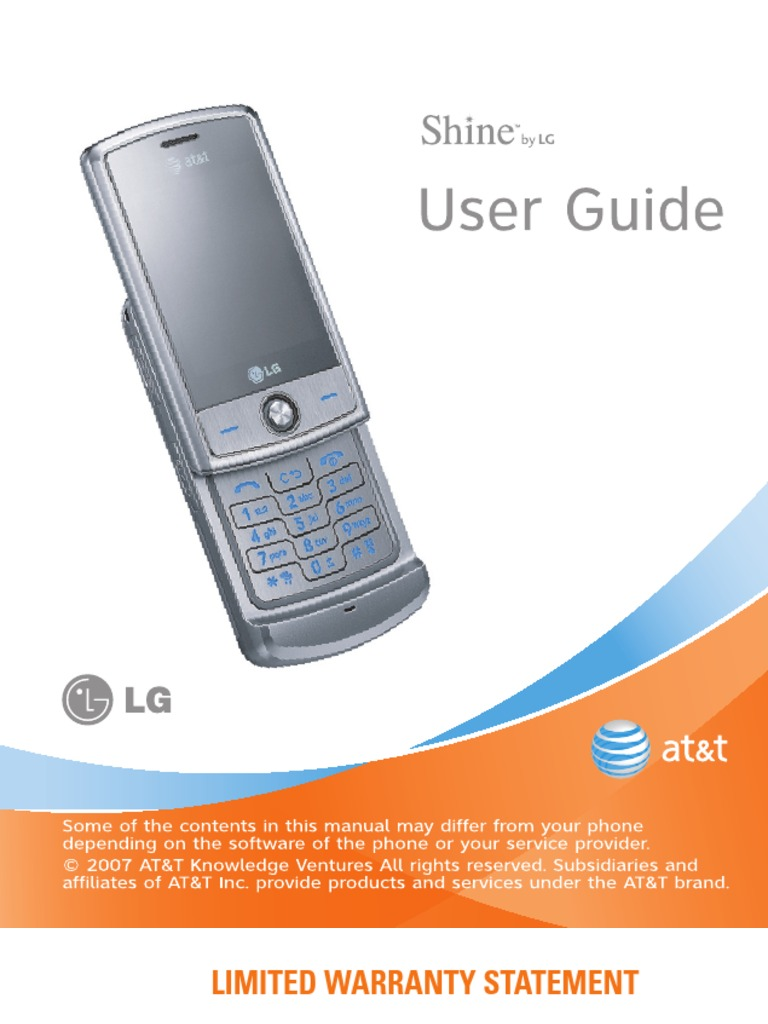 download lg shine user manual docshare tips rh docshare tips Review LG Shine Phone LG Shine II