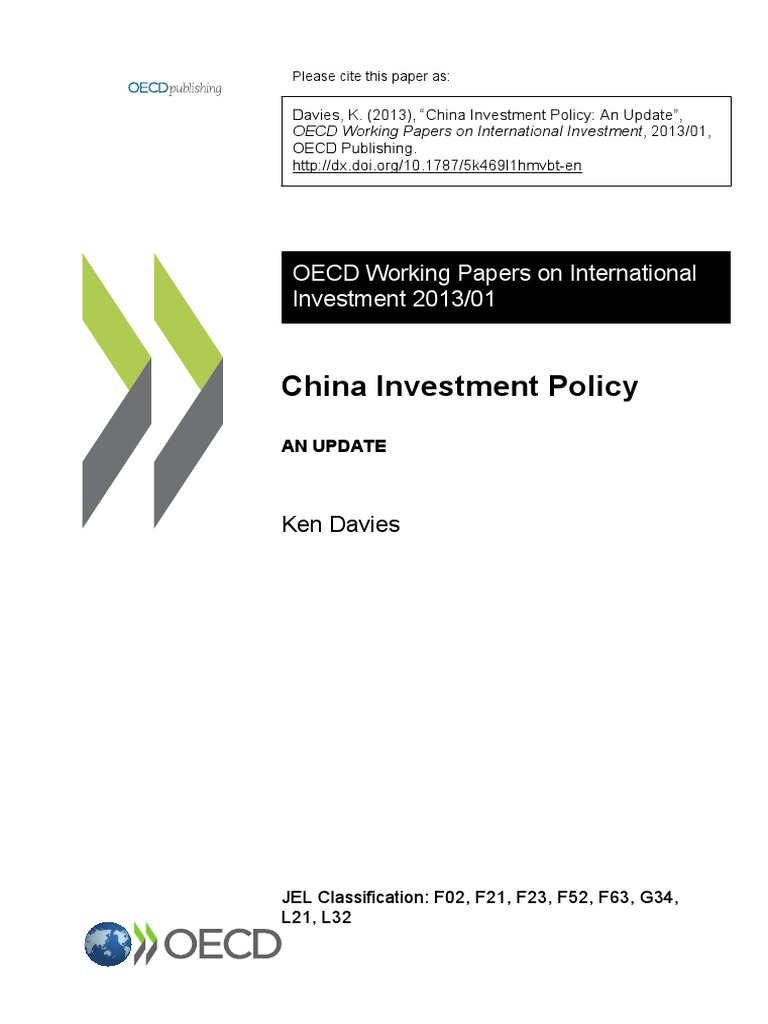 an examination of chinas investment policy and its recycling and donating mission Decisionmakers at all levels, on fiscal and monetary policy, business finance and investment strategy, and personal household economic matters provide leadership in trade promotion, economic development, and economic analysis.