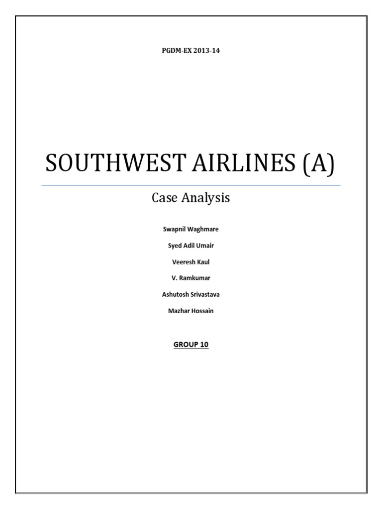 case study of northwest airlines Abstract: the aviation industry has experienced high turbulence due to the unprecedented rise in world oil prices, intense competition for major players from low cost carriers and the prolonged recession in the us economy in this context, the merger of delta and northwest, two of the oldest and largest airlines in the us ,.