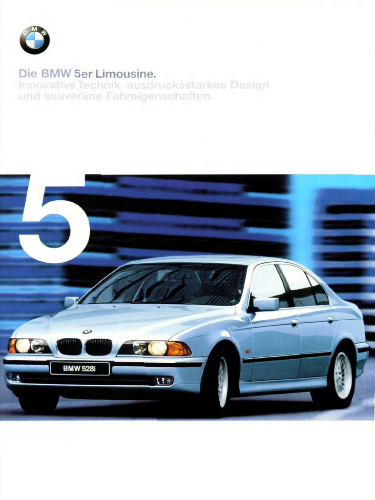 Download BMW E39 1998 Brochure - DocShare tips