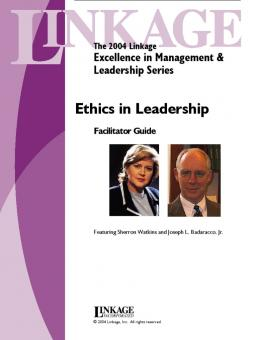 ethics in leadership today The ethisphere institute, a leading international think-tank dedicated to the creation, advancement and sharing of best practices in business ethics, corporate social responsibility, anti-corruption and sustainability, today unveiled the 100 most influential people in business ethics, an.