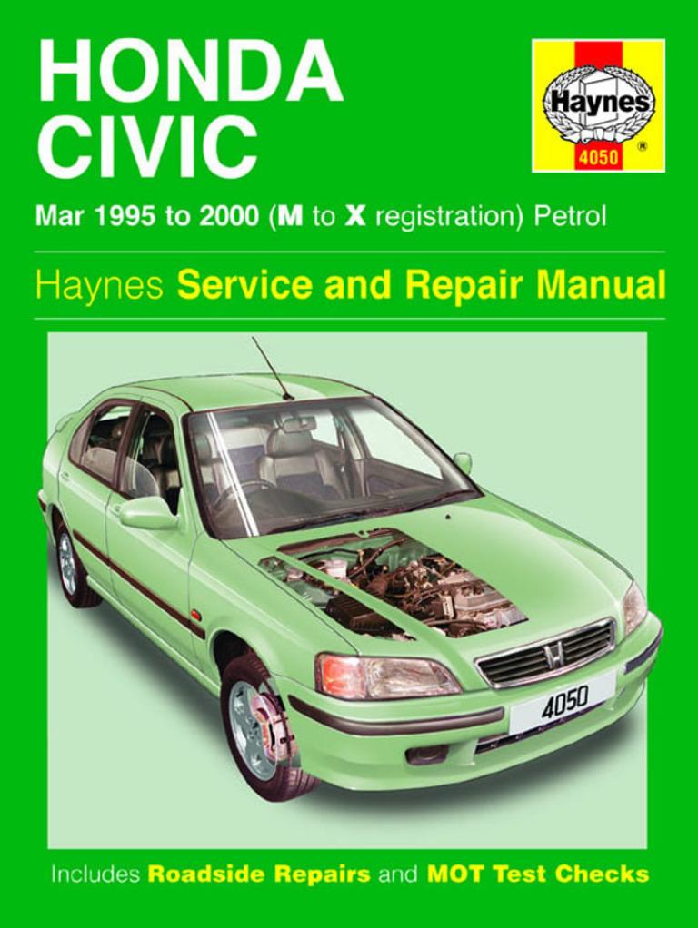 Honda Civic (96-98) Service Manual pdf - DocShare tips