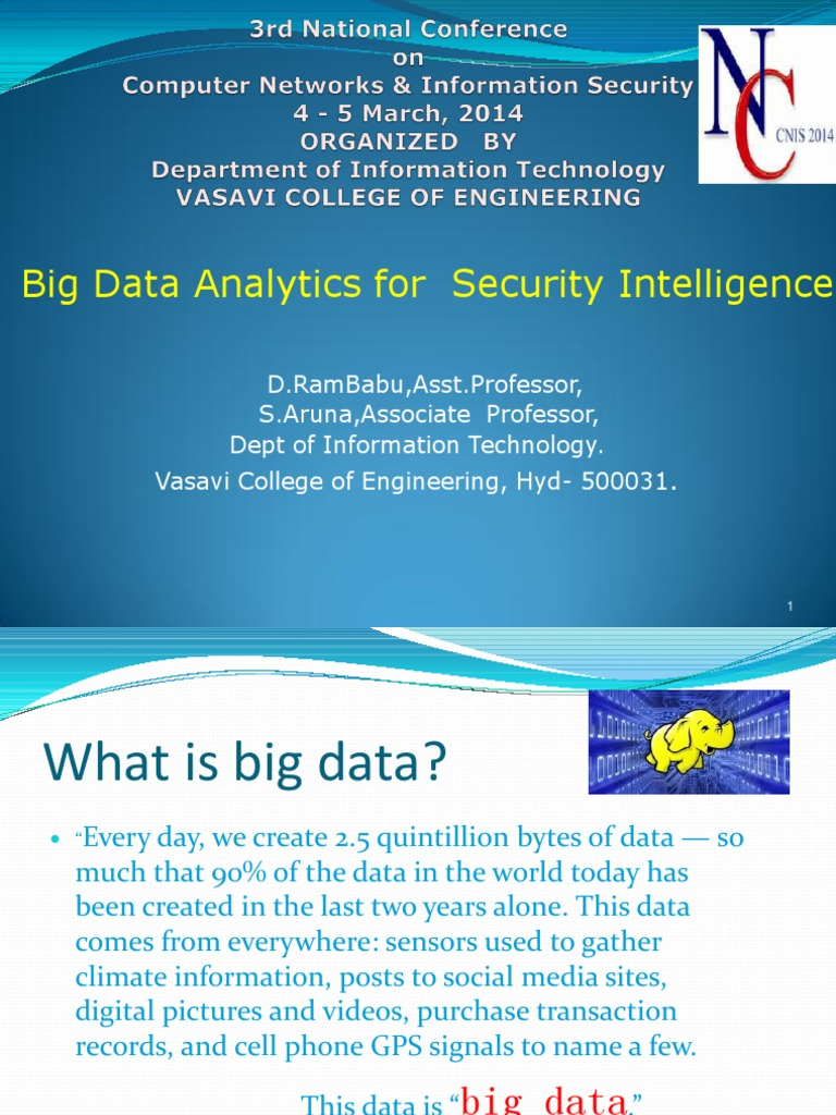 the emergence of big data analytics in technology today