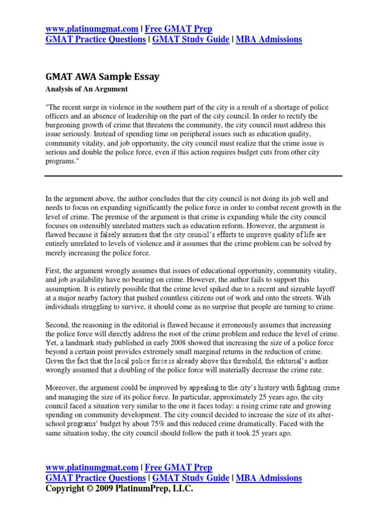 gmat issue essay answers Tips on how to write a gmat analysis of an issue essay and guidelines on how to structure it you are expected to explain your position on an issue you must state and justify your opinion of the topic under discussion all the issue topics will have two sides.