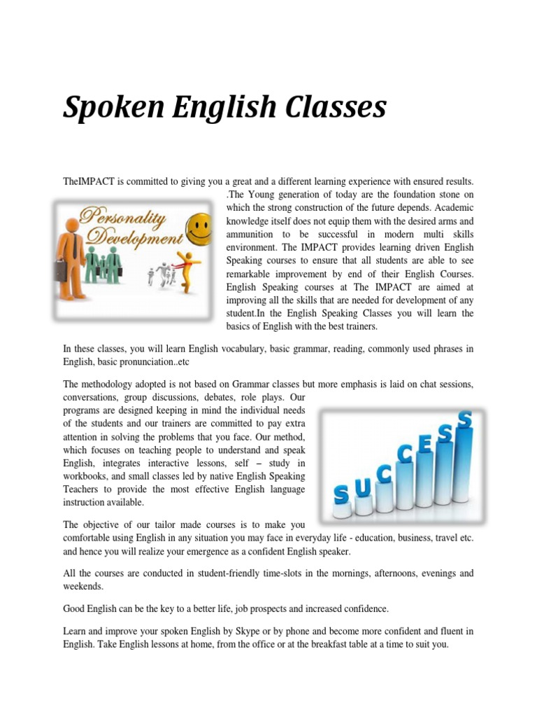 Download spoken English - DocShare tips