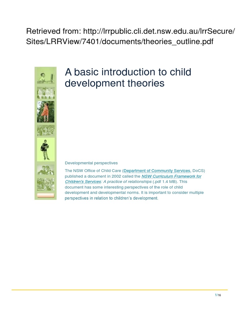an introduction to language and cognition in child development Child development and classroom teaching: a review of the literature and implications for educating teachers$ denise h danielsa,, lee shumowb adepartment of psychology and child development, california polytechnic state university.