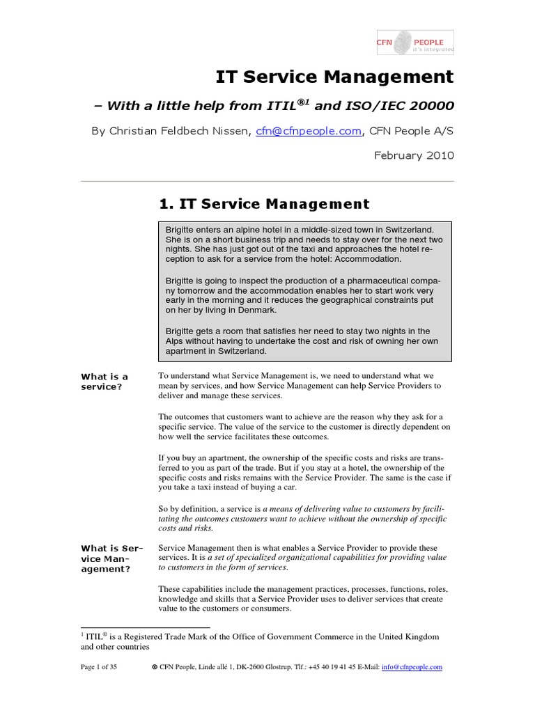 Download Itil It Service Management 100 Most Asked Questions On It