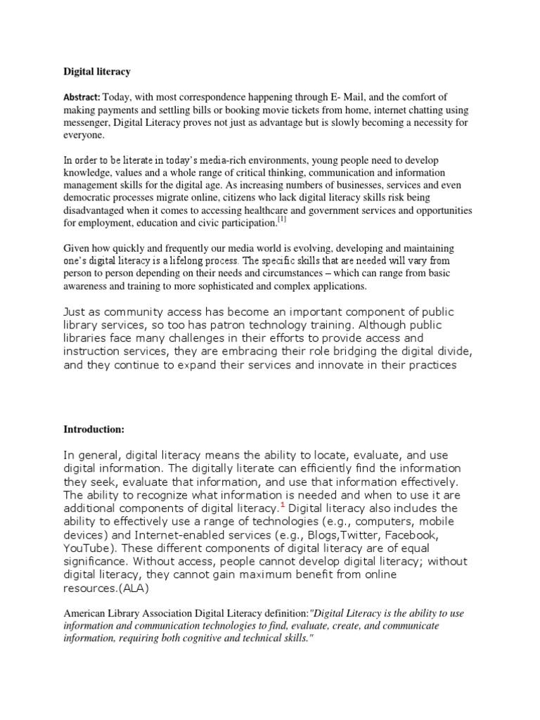 Download Microsoft Digital Literacy Certificate Test Item File
