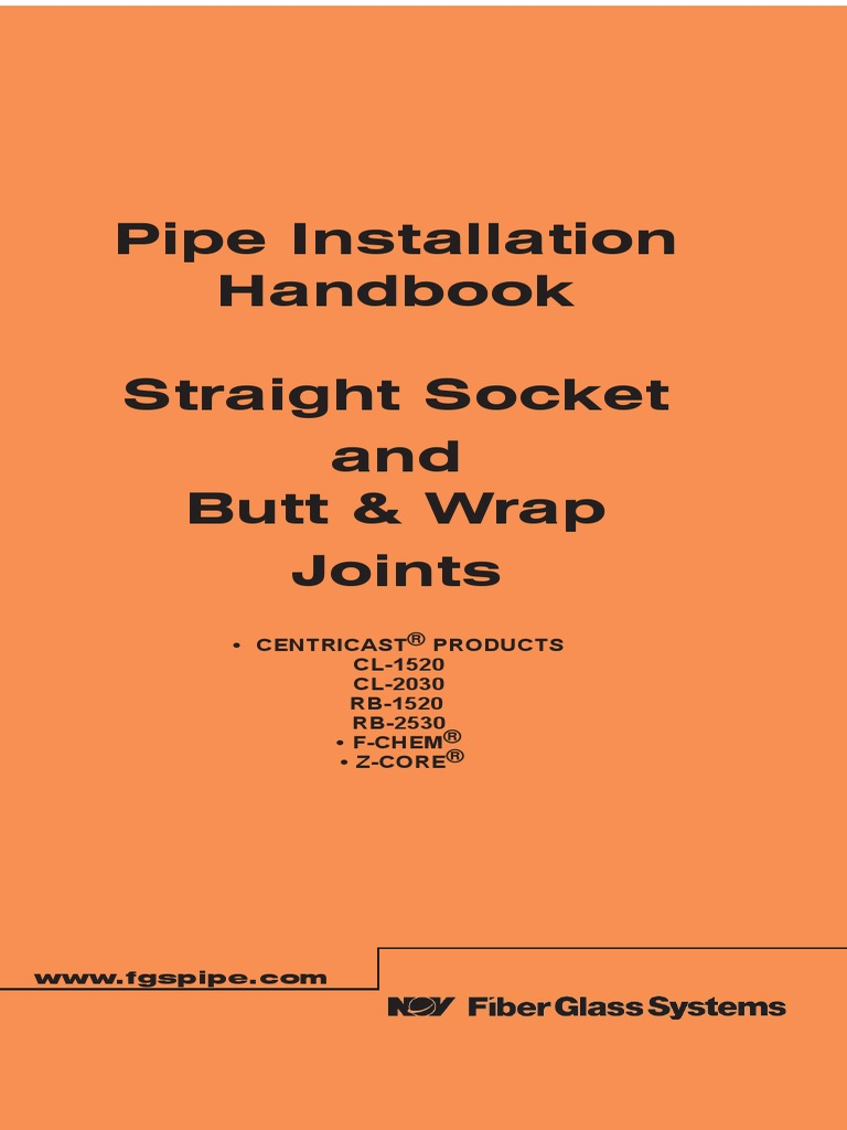Grp pipe socket joint docshare tips