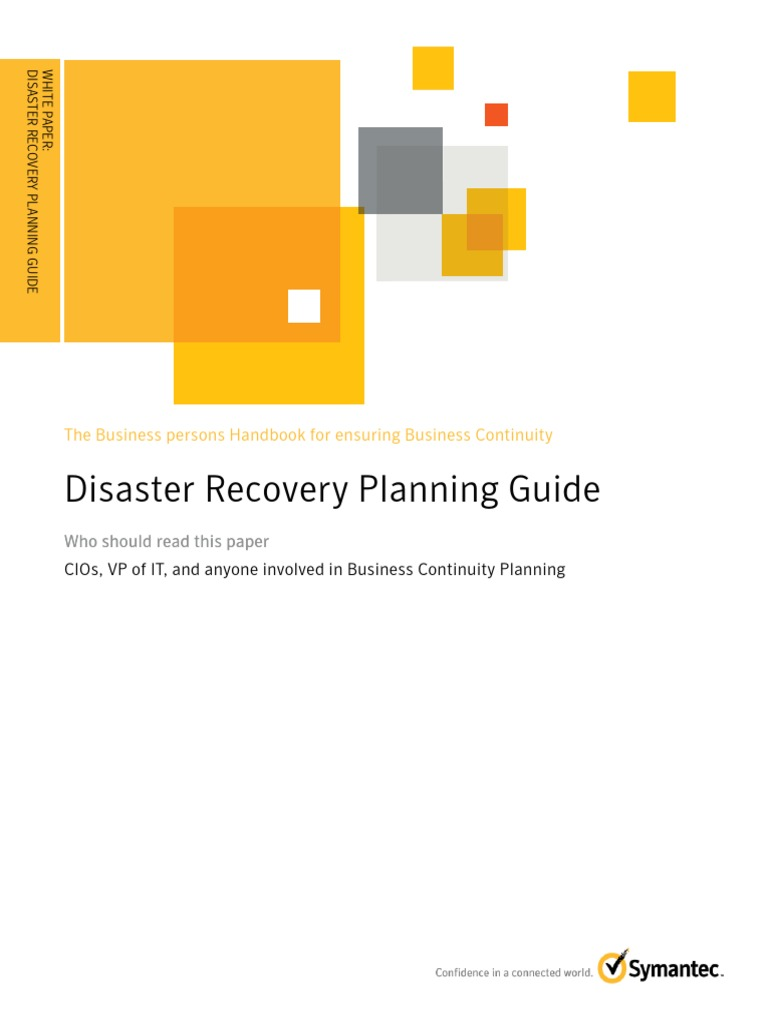 rationale of disaster recovery planning information technology essay Free essay: disaster recovery plan student's name: tutor's name: course title:  date  it is for this reason that many organizations and business resort to  preparing  and technology and that will ensure that the disaster recovery  process is  this will ensure that confidential data and information is only.