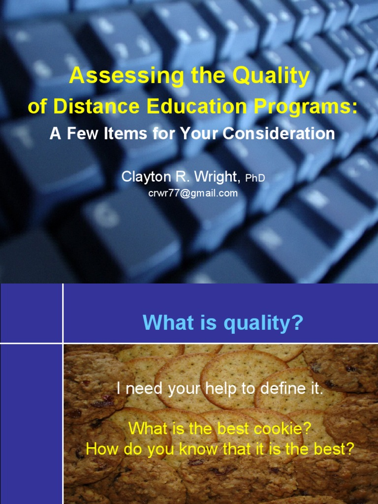 assessing the quality of education in School quality: an indicators report education statistics (nces)  researchers, and others interested in assessing the strength of our schools while it is rele-.