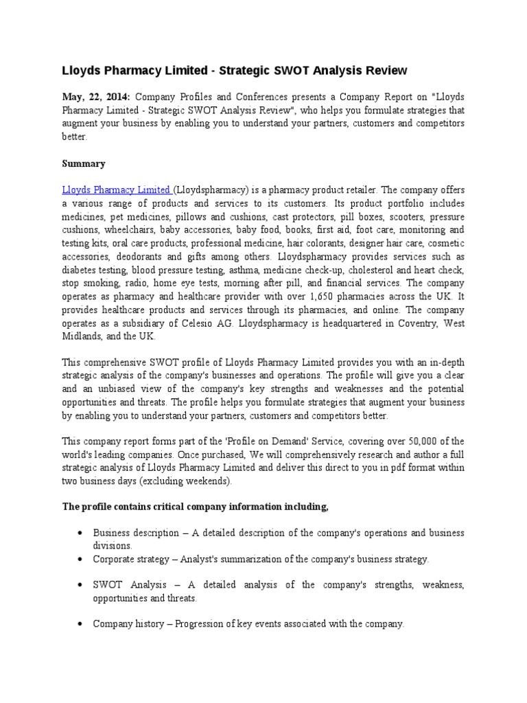 wrsx strategic development swot analysis