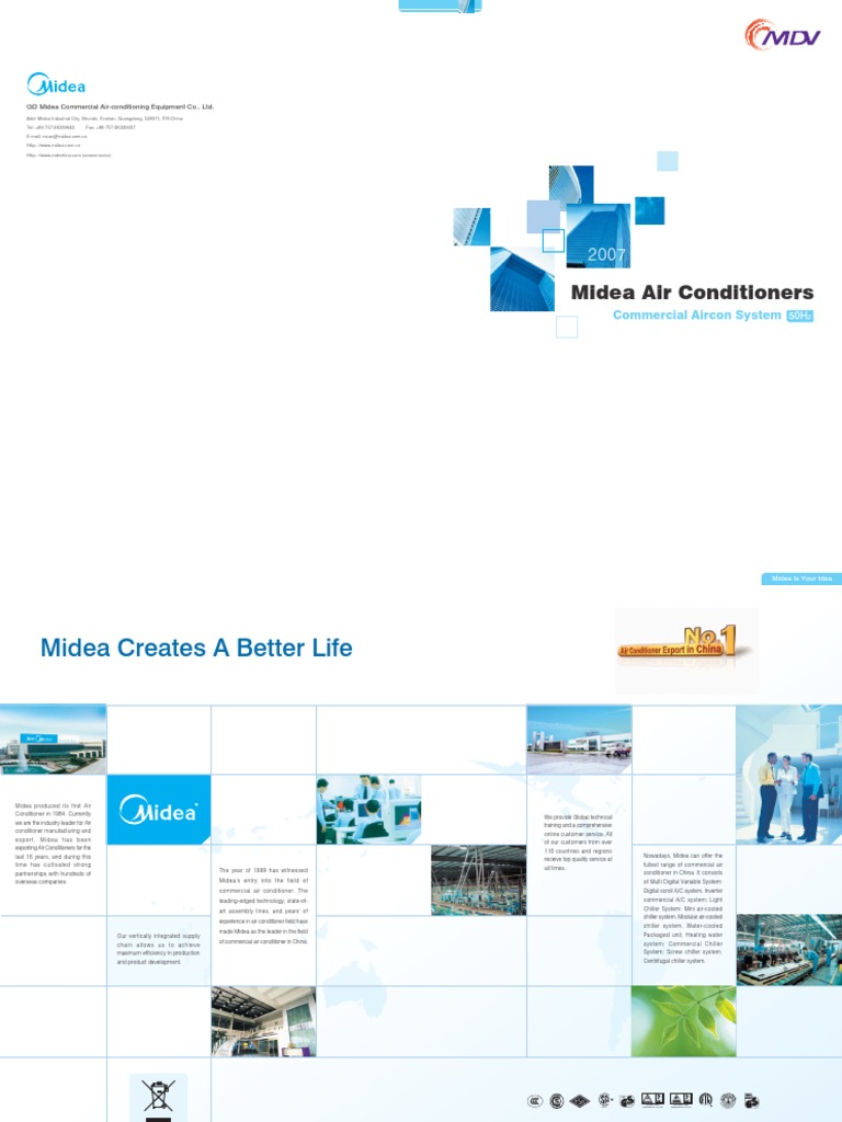 Midea Air Conditioners 50hz Conditioner Wiring Diagram