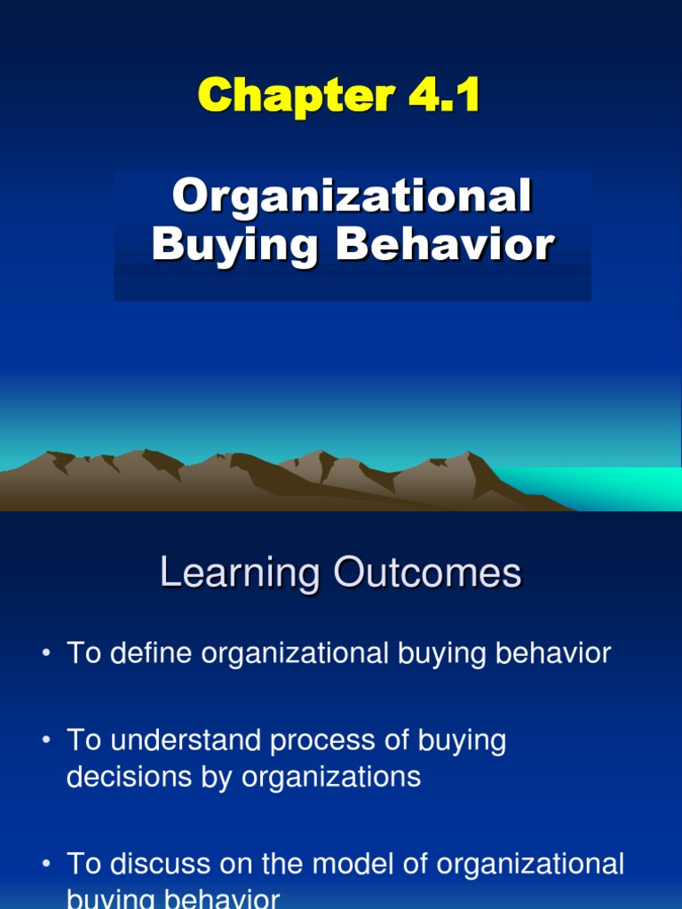 a discussion on organisational behavior