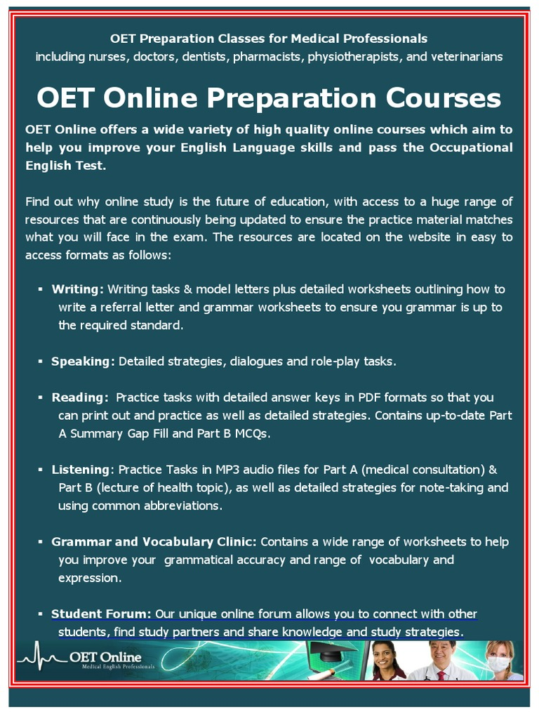106067217 OET Online Course Brochure 2012 - DocShare tips