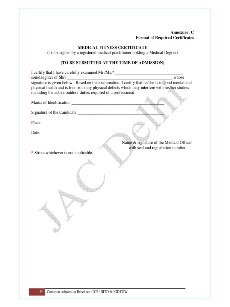 Health certificate format etamemibawa health certificate format yadclub Gallery
