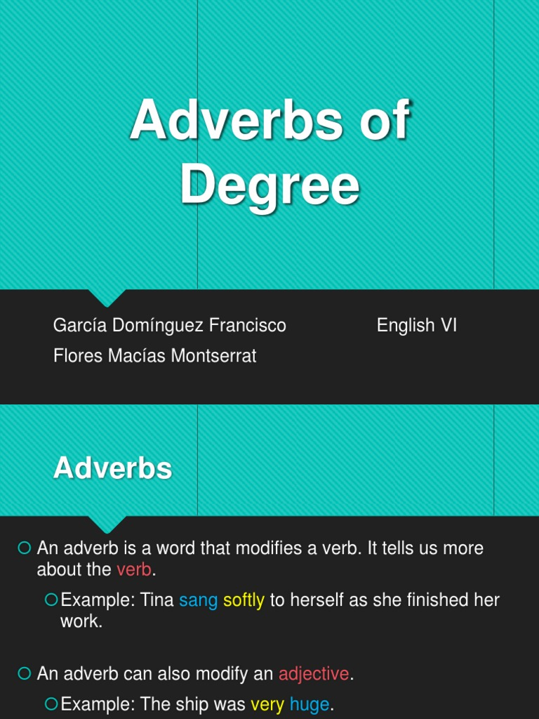 Download Adverbs Of Degree And Certainty Docshare