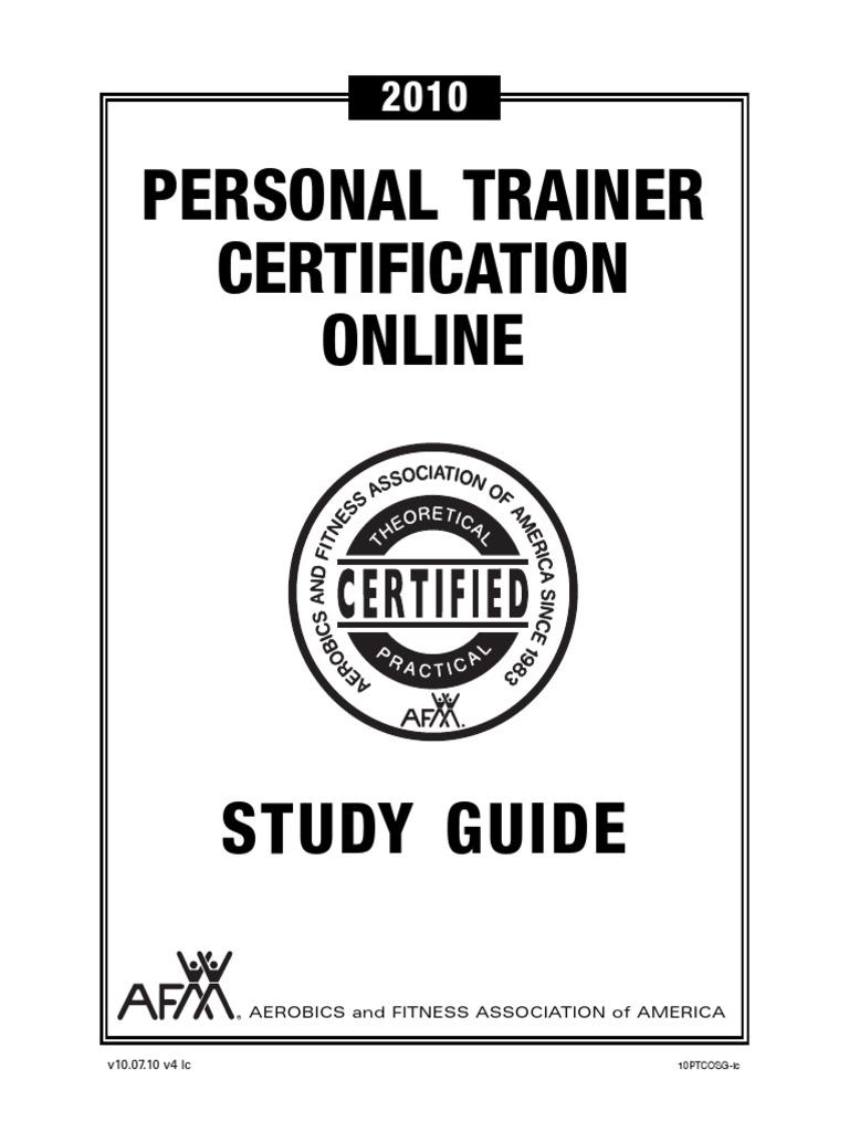 AFAA Online Certification - DocShare.tips