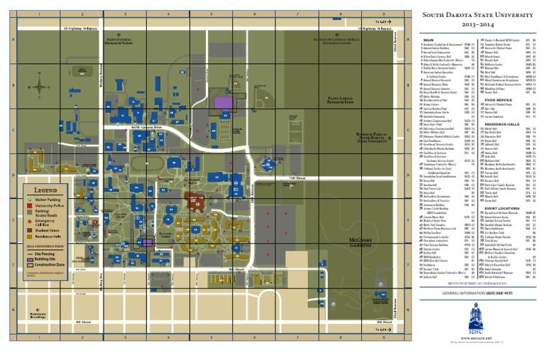 sdsu campus map 2015 Campusmap Sdsu Docshare Tips
