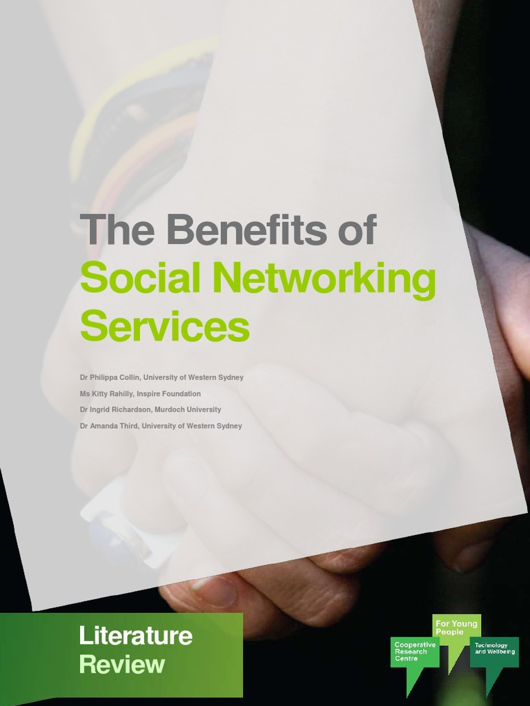 benefits of social networking essay